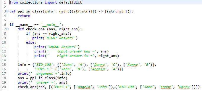 Solved: PYTHON Create Ppl_in_class Function Takes Info And