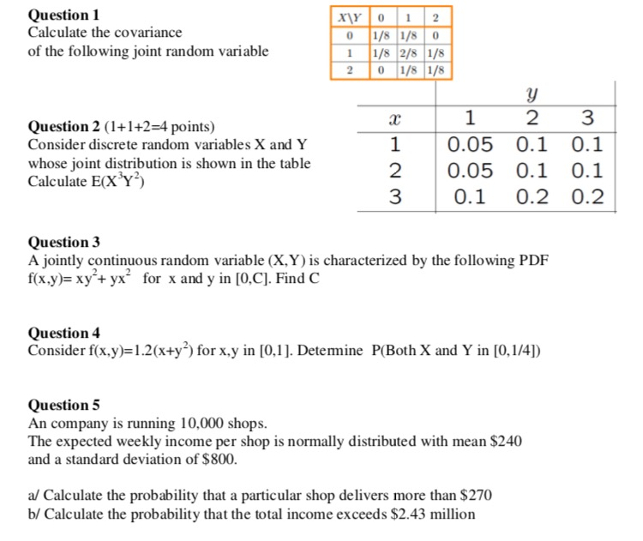 discrete probability questions and answers pdf