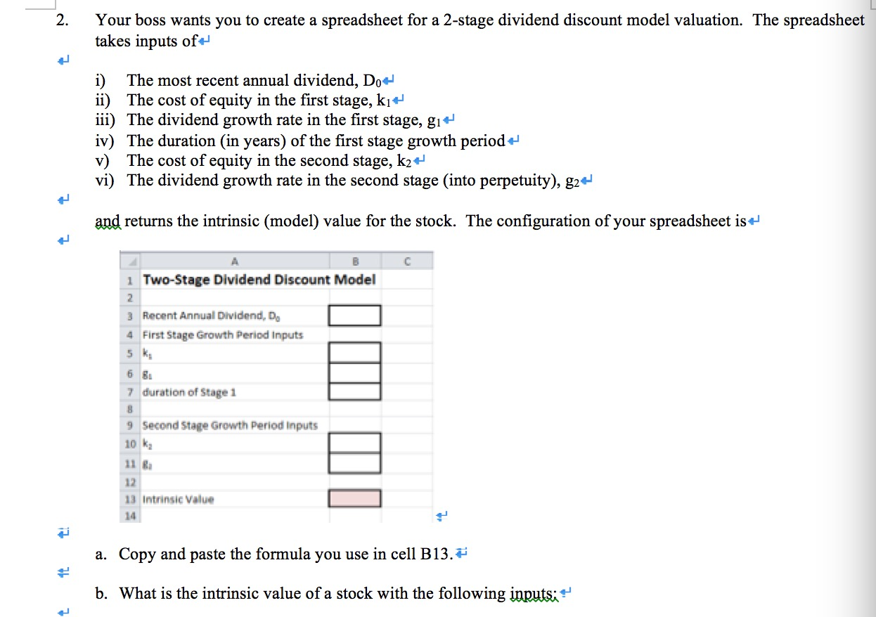 Solved: Your Boss Wants You To Create A Spreadsheet For A