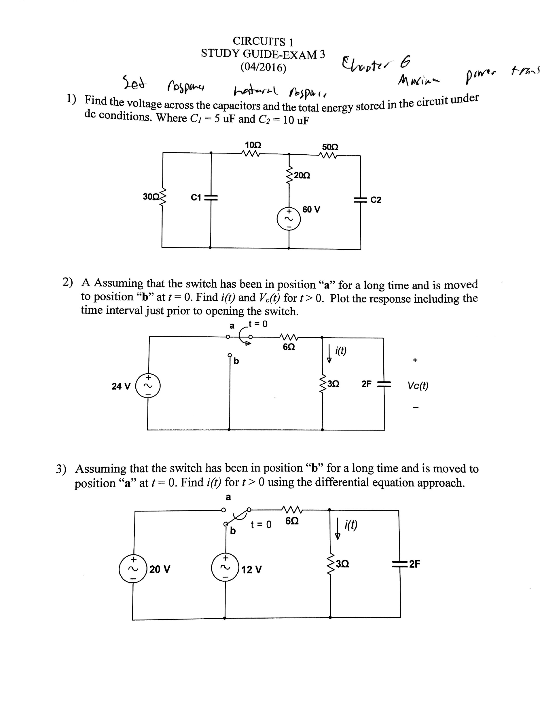 Dc Circuit Study Guide Doc Phet Lab Parallel Bulbs Array Solved Please Do Number 1 With A Full Write Up And Explin Rh Chegg Circuits
