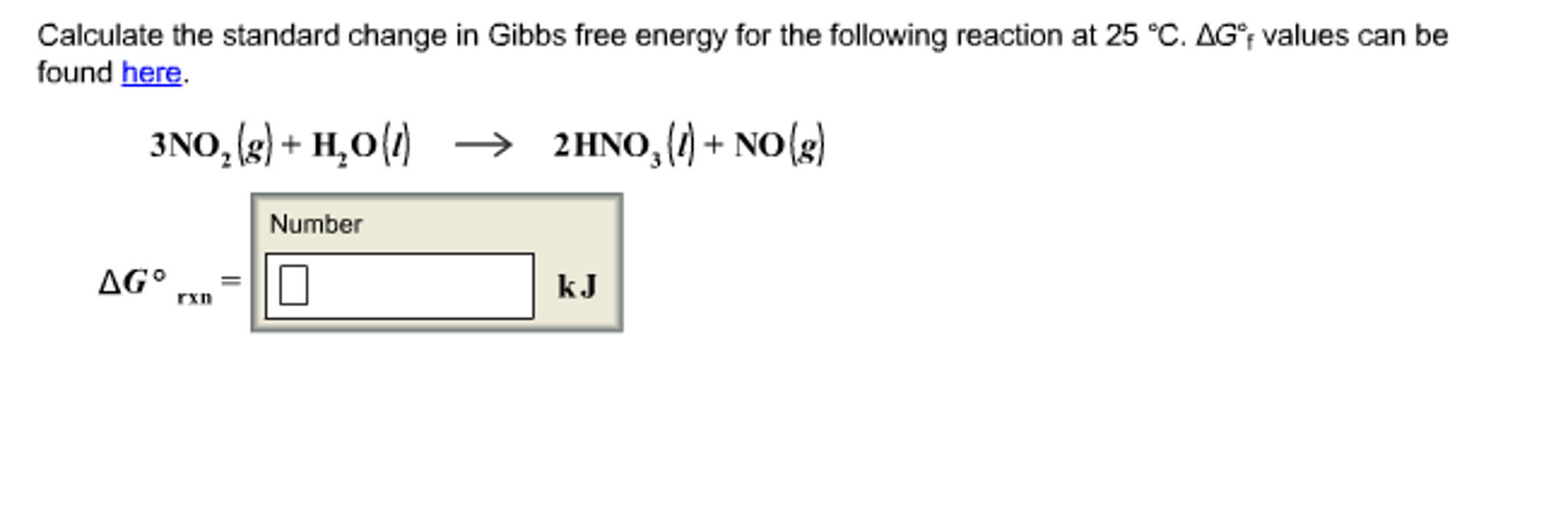 Calculate the standard change in gibbs free energy chegg calculate the standard change in gibbs free energy pooptronica