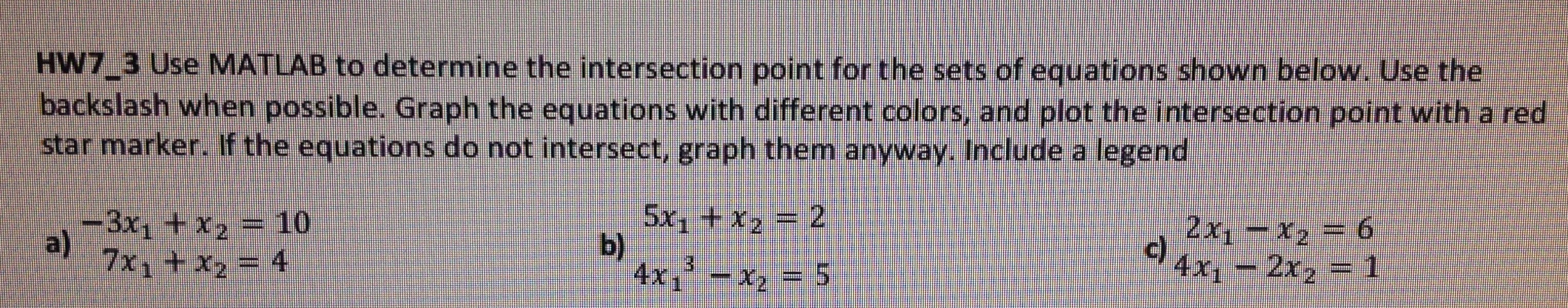 Need Help Solving This Set Of Equations Using Matrix   Chegg com