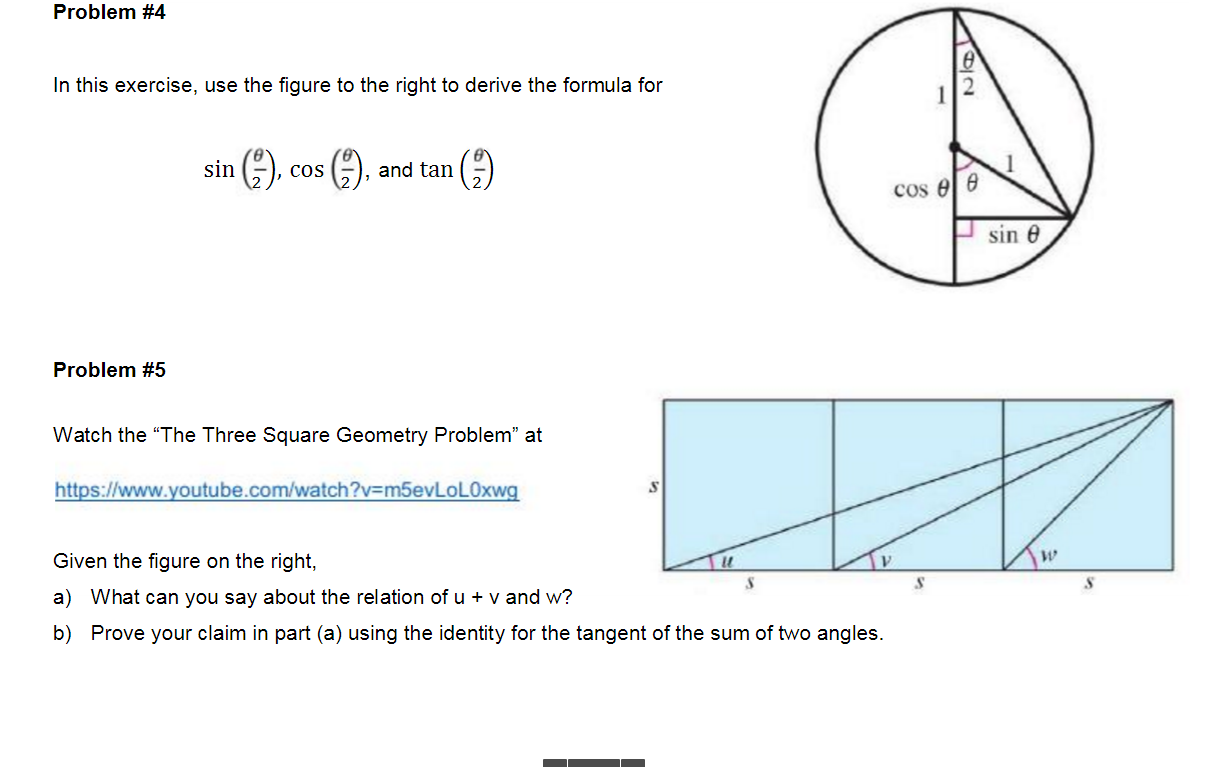 Solved: In This Exercise, Use The Figure To The Right To D ...