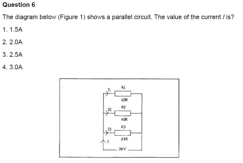 solved the diagram below shows a parallel circuit the va rh chegg com