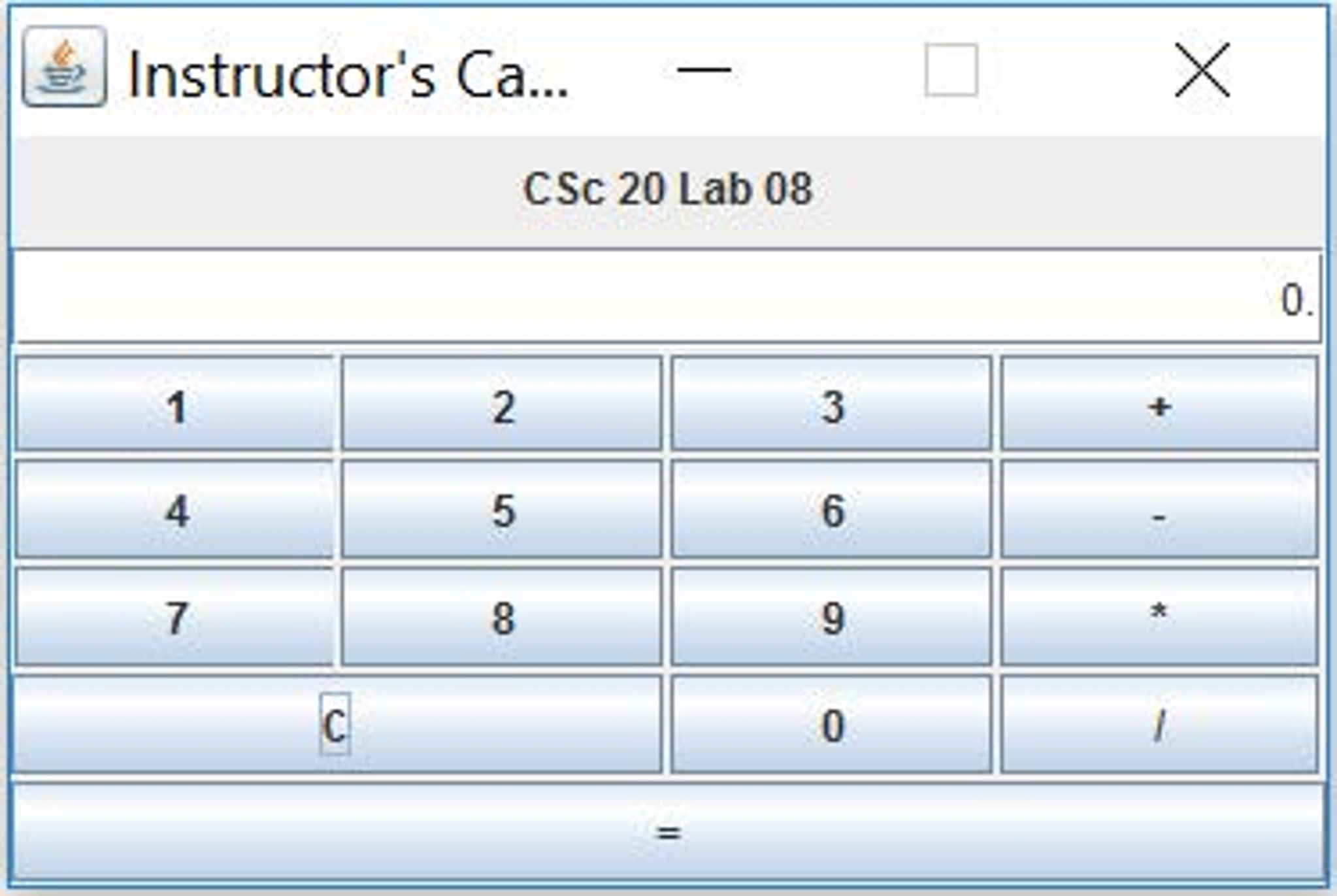 Solved: In This Assignment You Are To Use Java GUI Widget