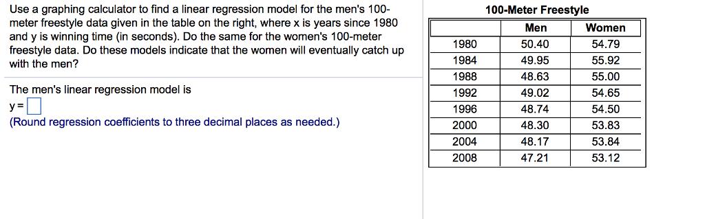 Ti 83/84: linear regression & correlation (v09) eachnow. Com.