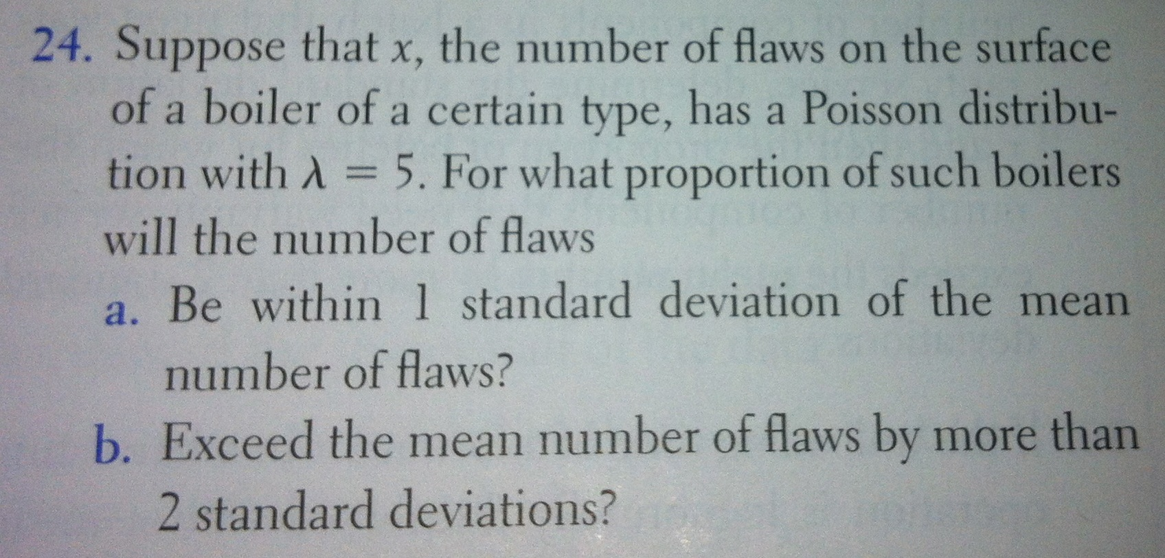 Solved: Suppose That X, The Number Of Flaws On The Surface ...