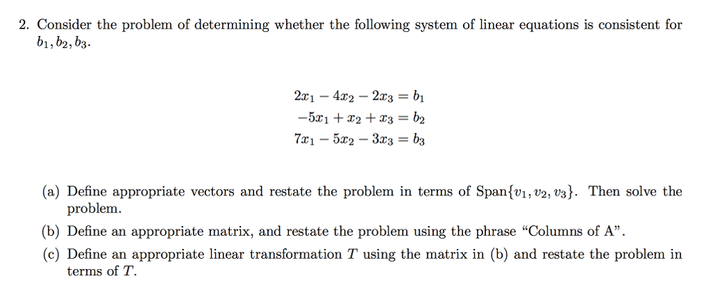 Solved: 2  Consider The Problem Of Determining Whether The
