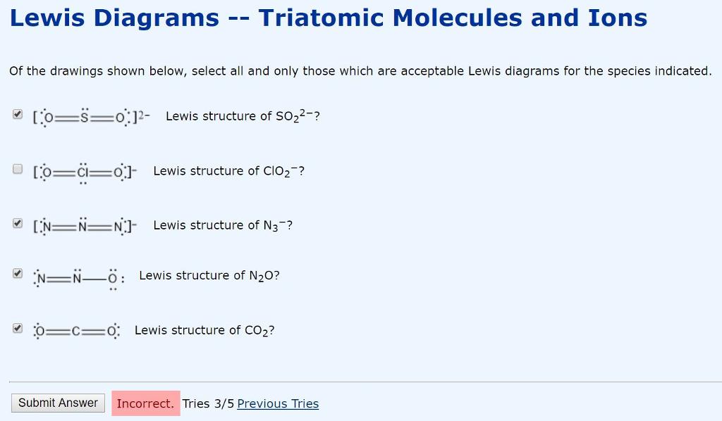Solved Lewis Dot Diagrams Diatomic Molecules I Had Tr