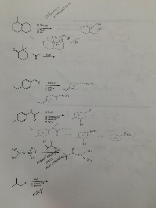 Solved: 2) A&O H Cu--CH Li 2) Maut    THE CNA (II (M3 NV12