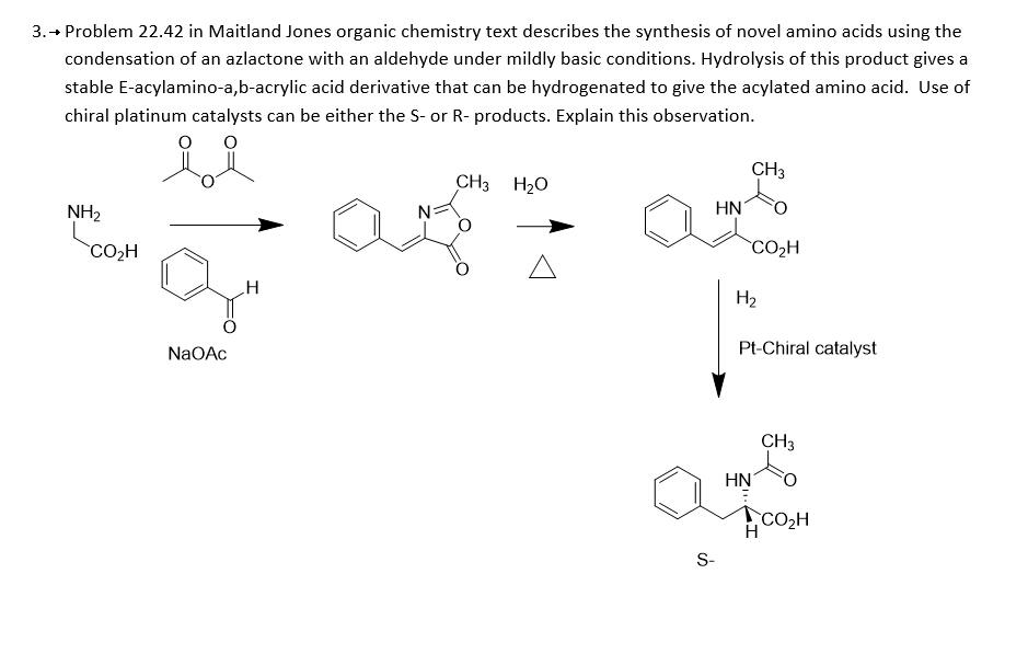 solved in maitland jones organic chemistry text describes rh chegg com Organic Chemistry Chemistry Wade Organic Chemistry Exam