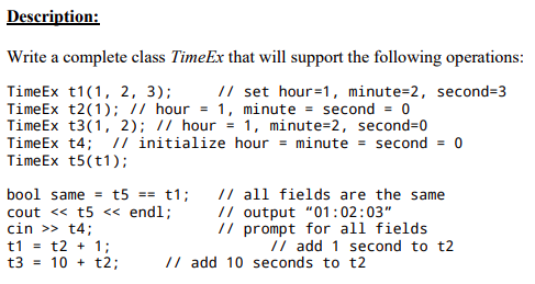 Computer science archive march 11 2018 chegg write a complete class timeex that wi il support the following operations timeex t11 fandeluxe Images