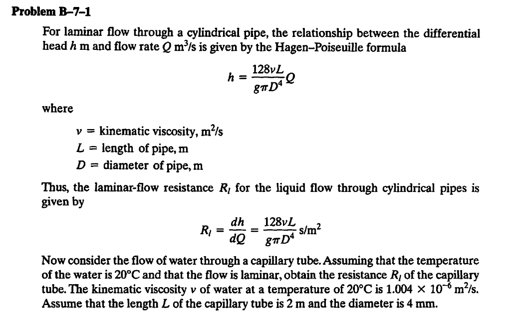 water flow through pipes pdf
