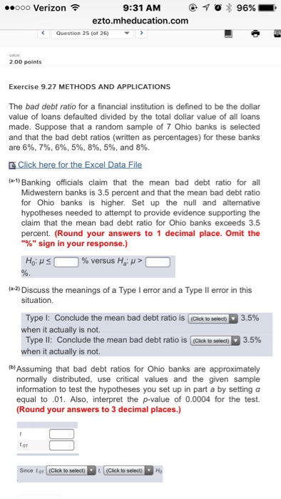 sample financial ratios questions and answers