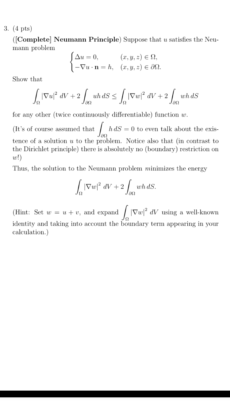 Dirichlet principle: problems with solutions 90