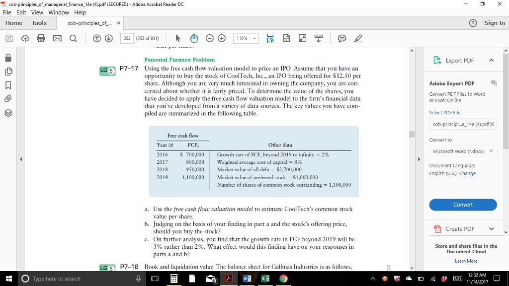 Solved: Cob-principles-of-managerial-finance-Ide (4) pdf