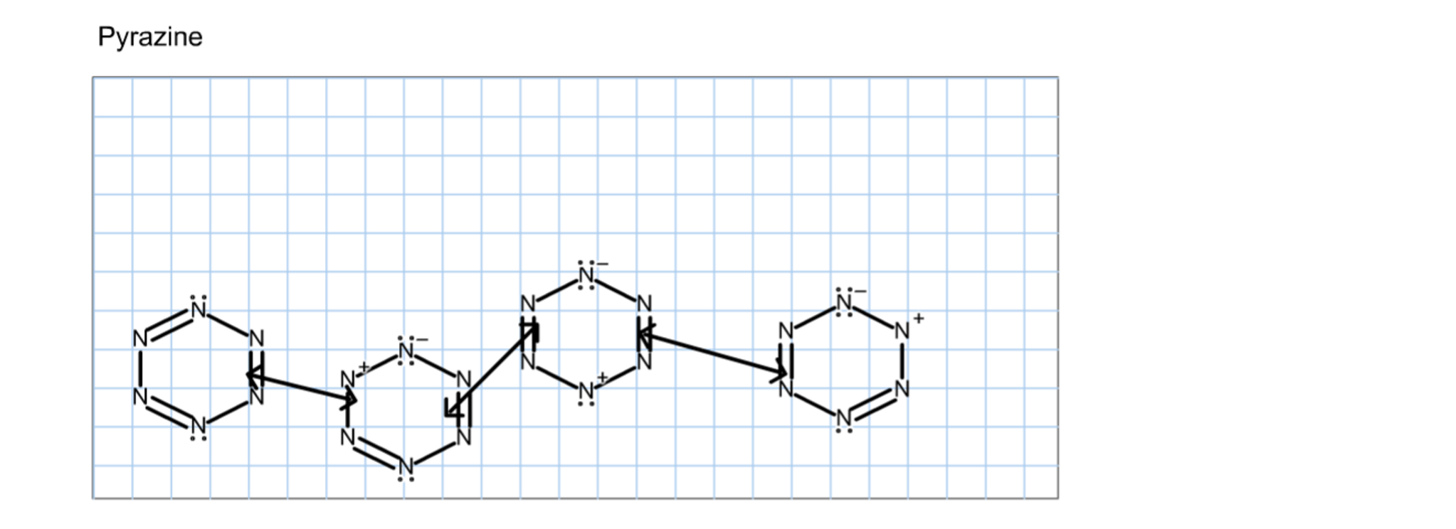 Solved Pyridine And Pyrazine Have Structures Similar To B