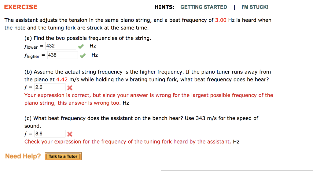 EXERCISE HINTS: GETTING STARTED I I'M STUCK! The A