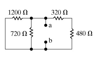 solved find the equivalent resistance rab for the circuit rh chegg com