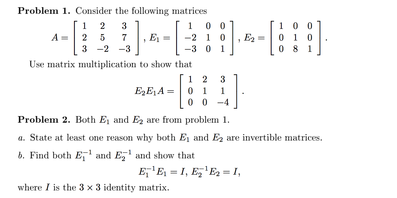 Consider The Following Matrices Use Matrix Multip Coefficient Of  Correlation