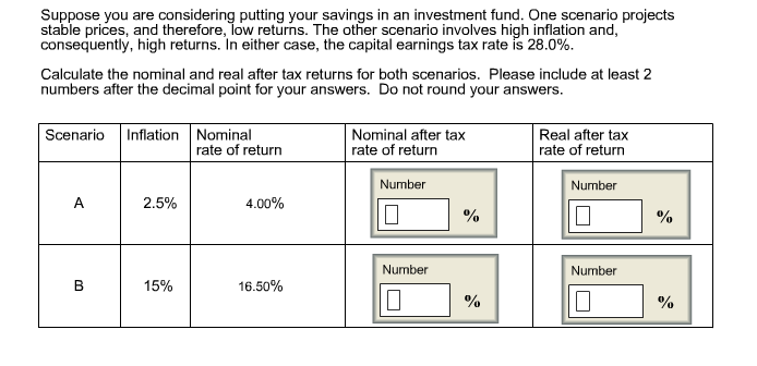 Solved: suppose you are considering putting your savings i.