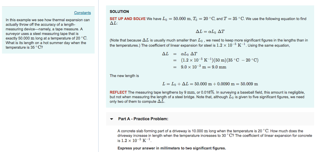 Solved: SOLUTION Constants SET UP AND SOLVE We Have Lo 50 ...