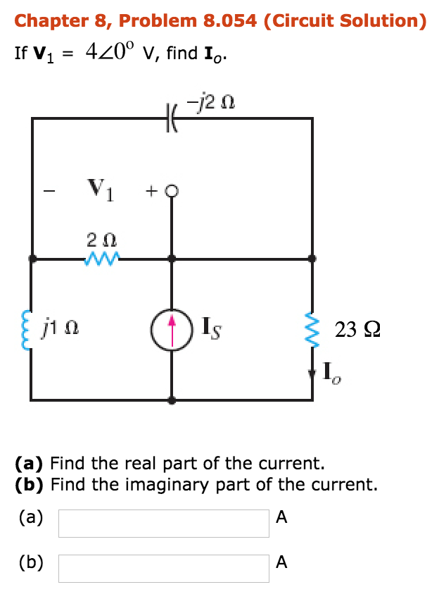 Electrical engineering archive october 21 2017 chegg chapter 8 problem 8054 circuit solution if v1 4200 v find fandeluxe Image collections