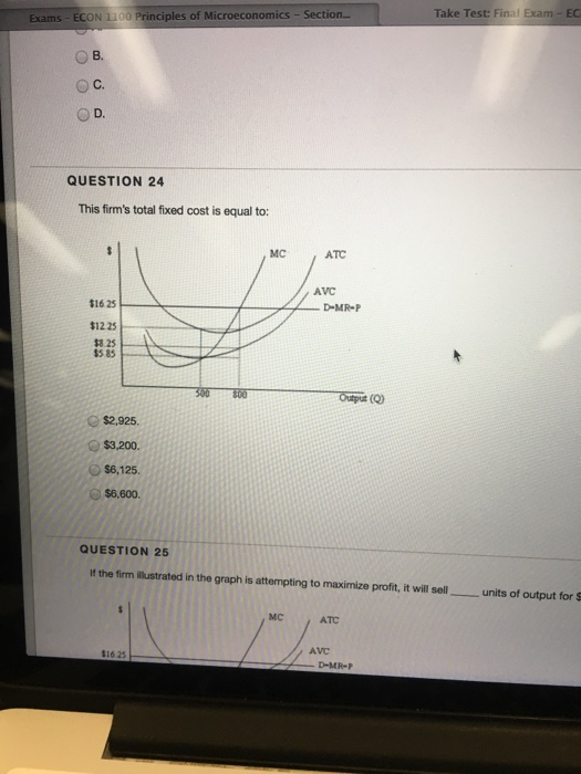 Solved: Https Learn unt edu Take Test: Final Exam ECON 110