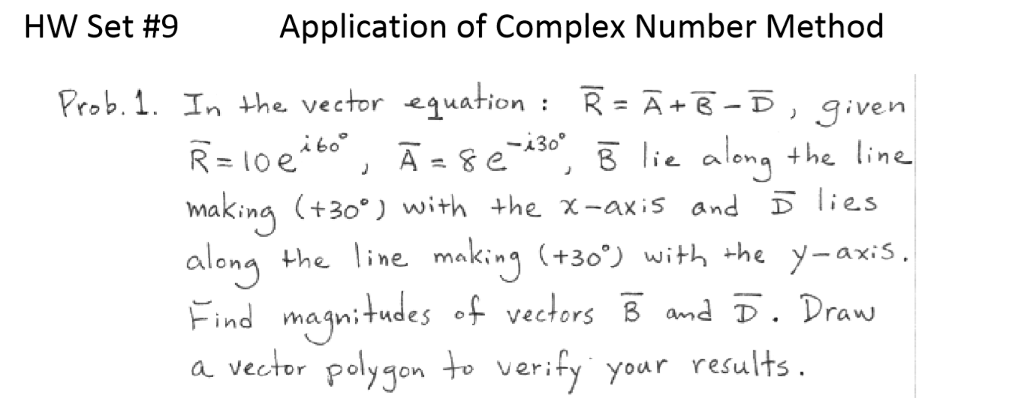 application of complex numbers