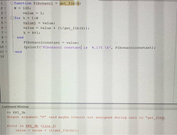 Computer science archive march 10 2016 chegg matlab help the first picture is the questiononly b need help that needs to be written the second photo is the getfib function that is mentioned in b fandeluxe Choice Image