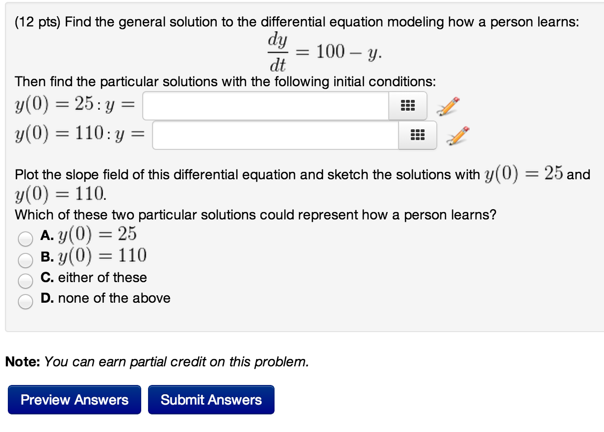 how to find the solution of an equation