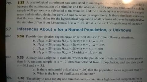 hypothetical experiment psychology