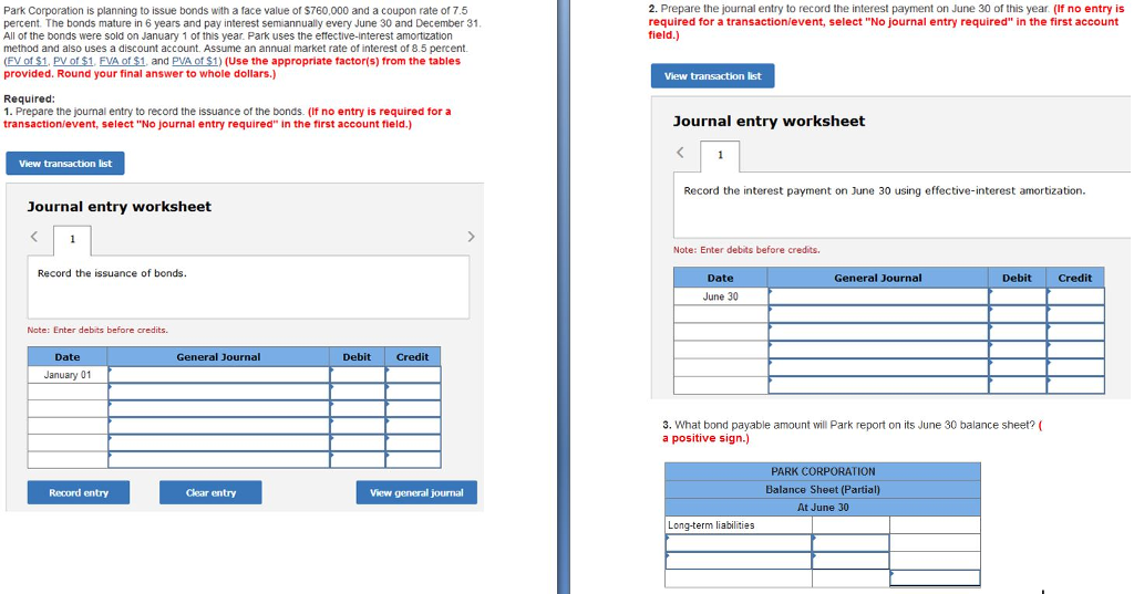 interest payment journal entry