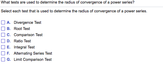 Solved: What Tests Are Used To Determine The Radius Of Con