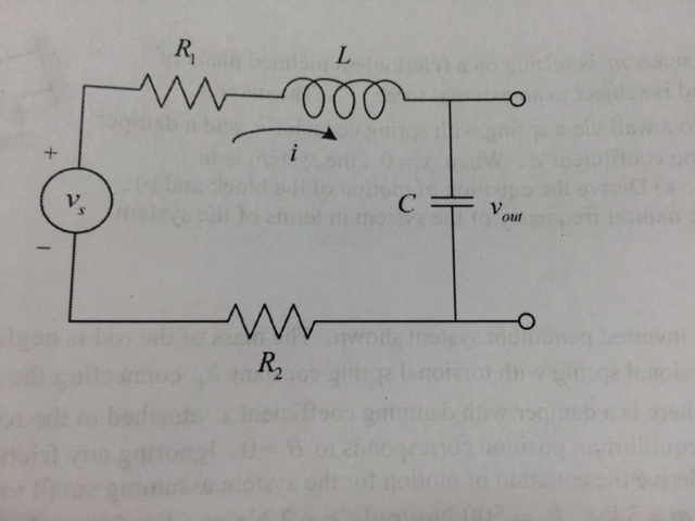 solved  consider the electronic circuit shown below consis