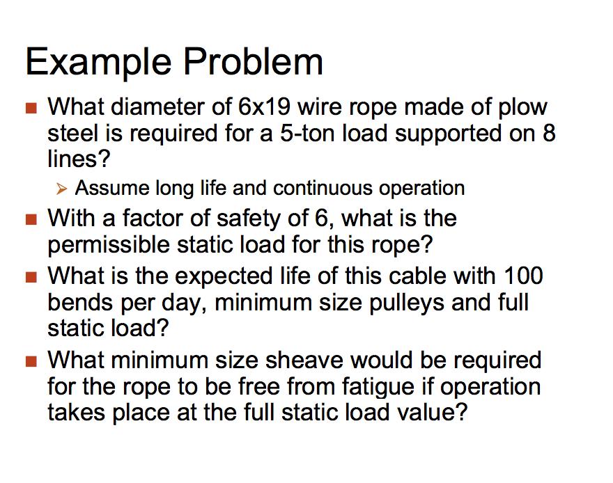 Unique 6x19 Wire Rope Sketch - Wiring Diagram Ideas - blogitia.com