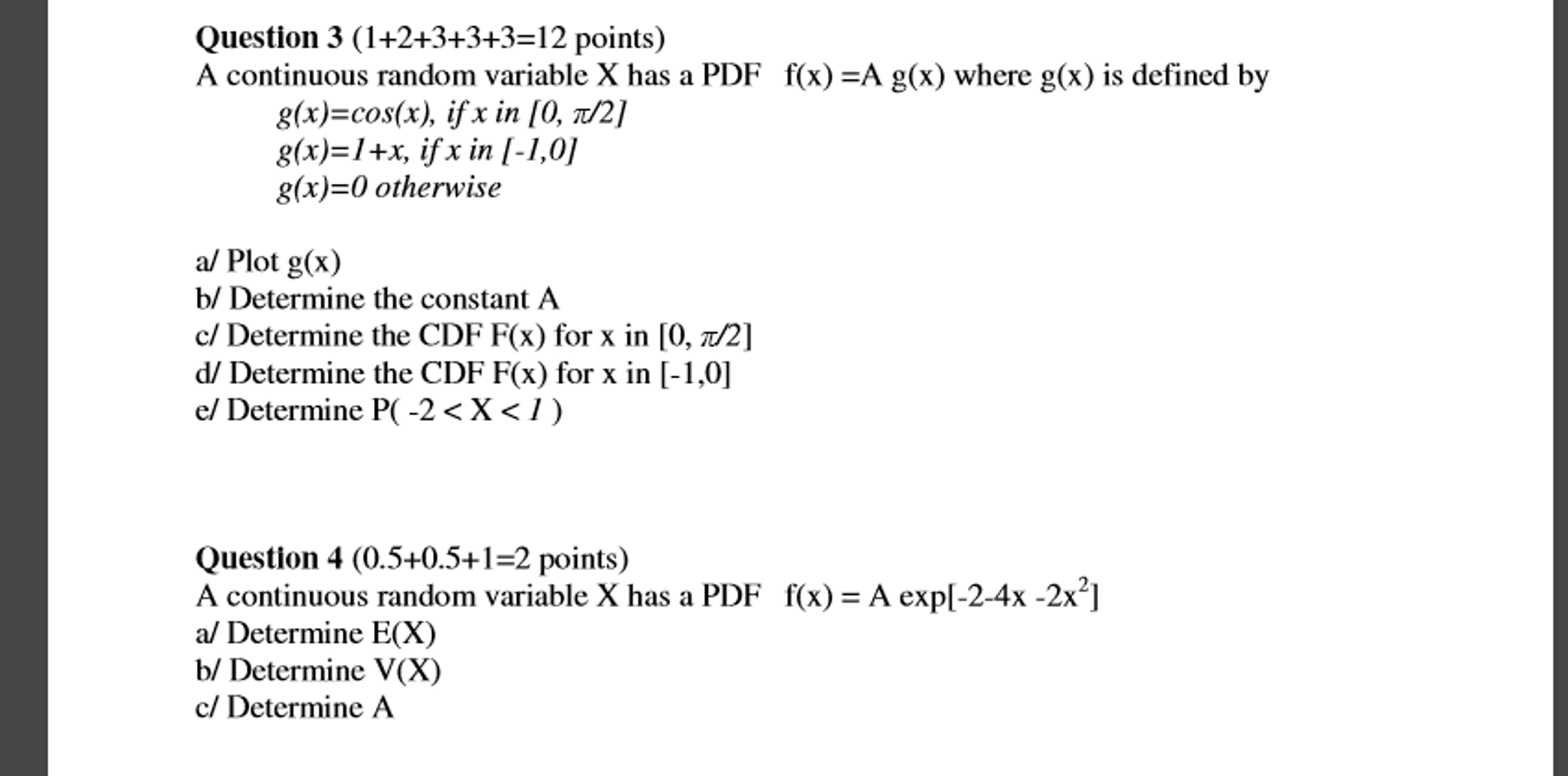 Statistics and probability archive november 11 2016 chegg a continuous random variable x has a pdf fx a biocorpaavc