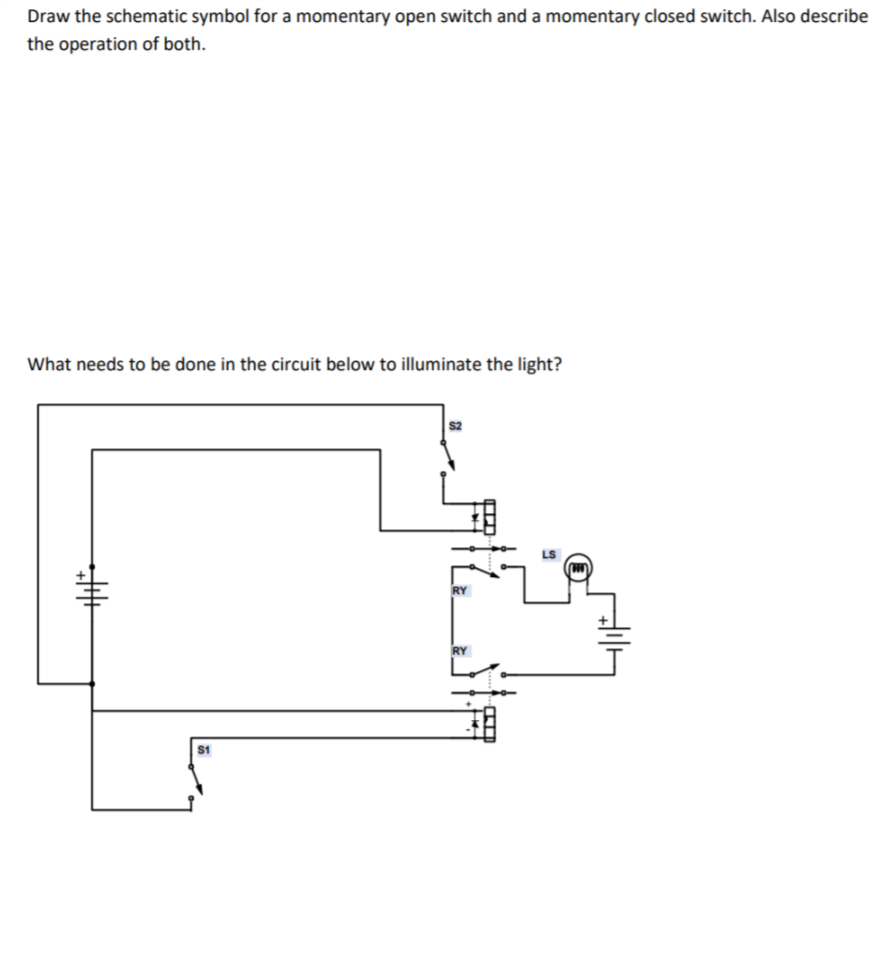 Open Switch Symbol Schematic Diagram - Enthusiast Wiring Diagrams •