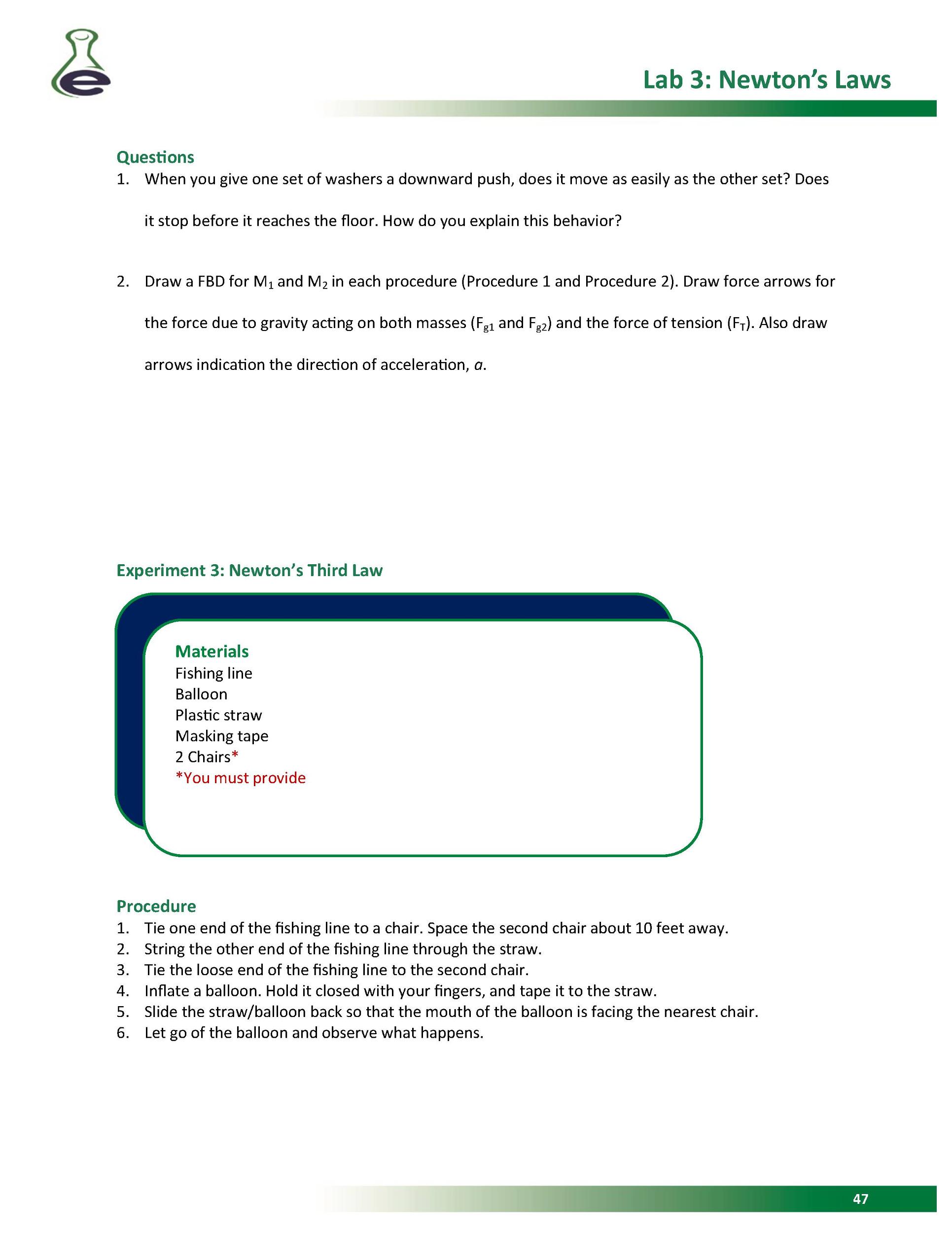 lab 5 newton s laws