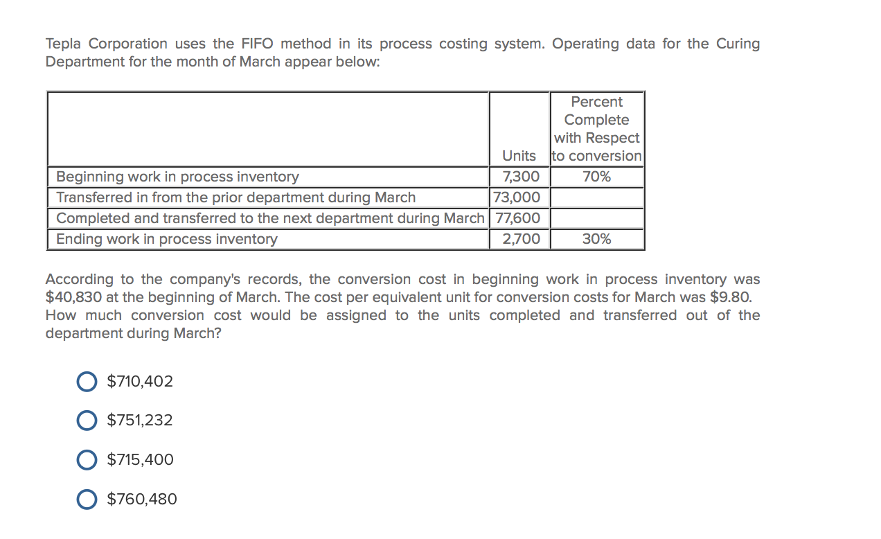 2 2 fowler company manufactures a single product operating data for the company and its absorption c (tco e) topple company produces a single product operating data for the company and its absorption costing income statement for the last year are presented below units in beginning inventory.