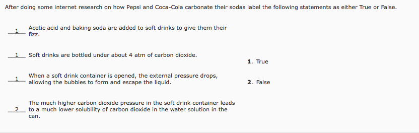 50fee74b9ef3 After doing some internet research on how Pepsi and Coca-Cola carbonate  their sodas label