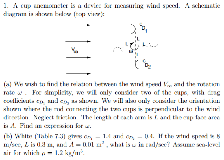 a cup anemometer is a device for measuring wind speed  a