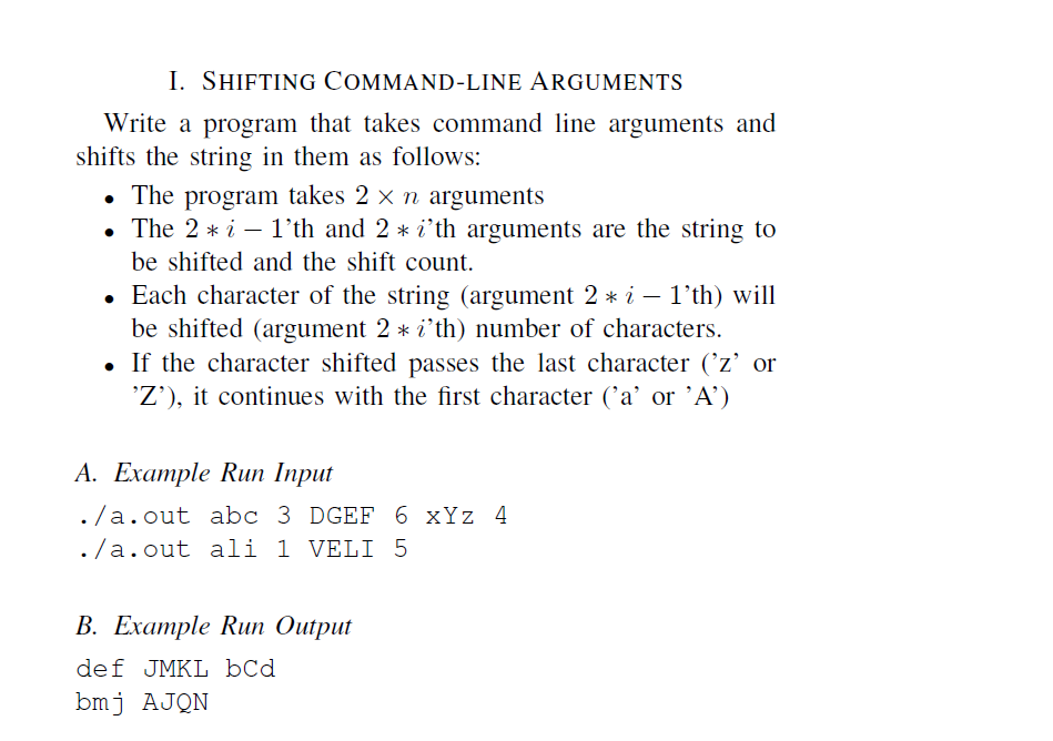 command line arguments in c pdf