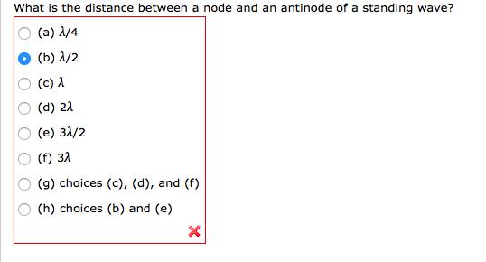 node and antinode