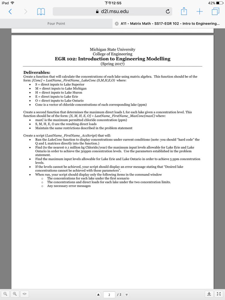 How To Calculate Gpa Ipad 12:55 42%, D D21 Msu A11 Matrix Math Ss17egr  102 Ntroputer