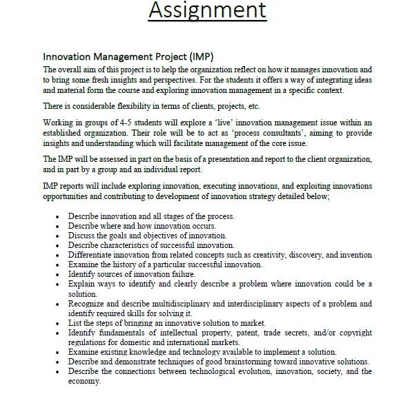management perspectives assignment