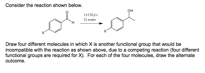 Solved Consider The Reaction Shown Below On 1 Ch3li 2