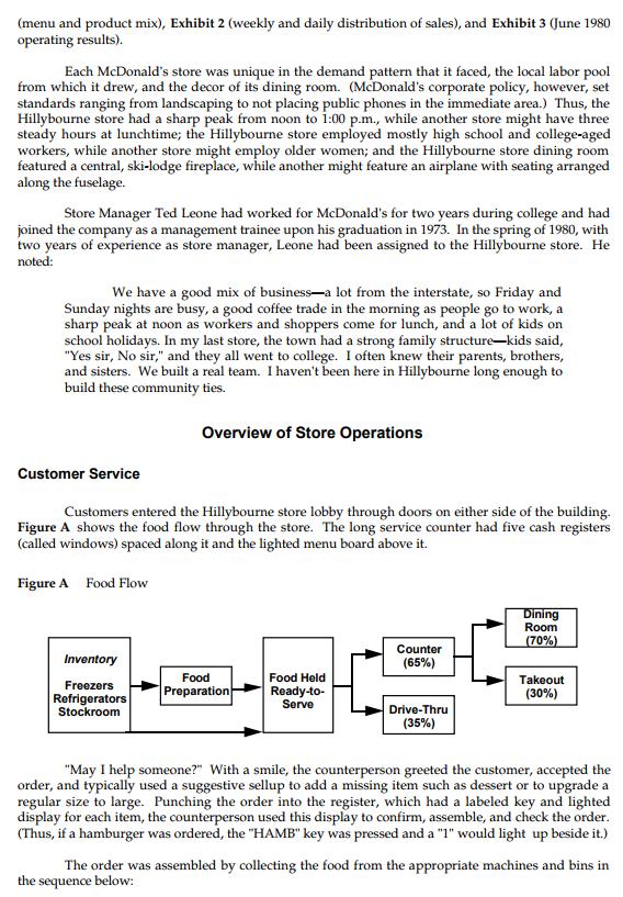 mcdonald operation management case study