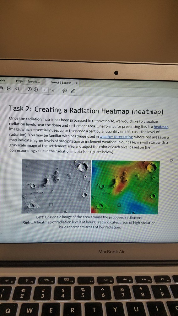 Solved: Here We Have To Creat A Radiation Heatmap  I Havw