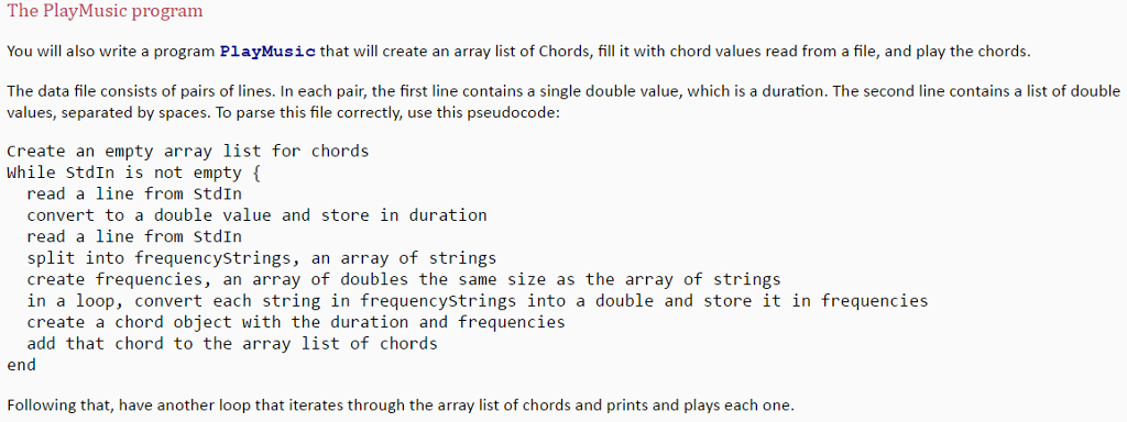 Solved Need Help With A Java Problem Please The Playchor